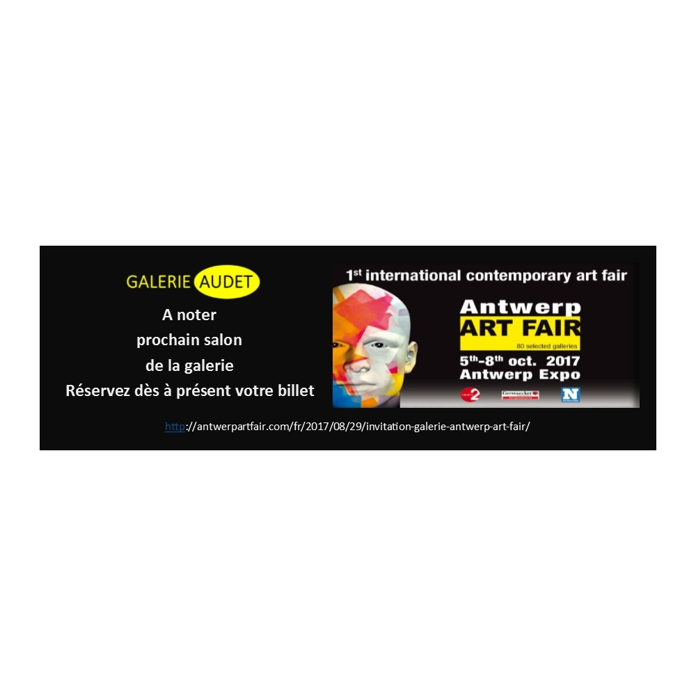 ART FAIR ANTWERP - OCTOBRE 2017