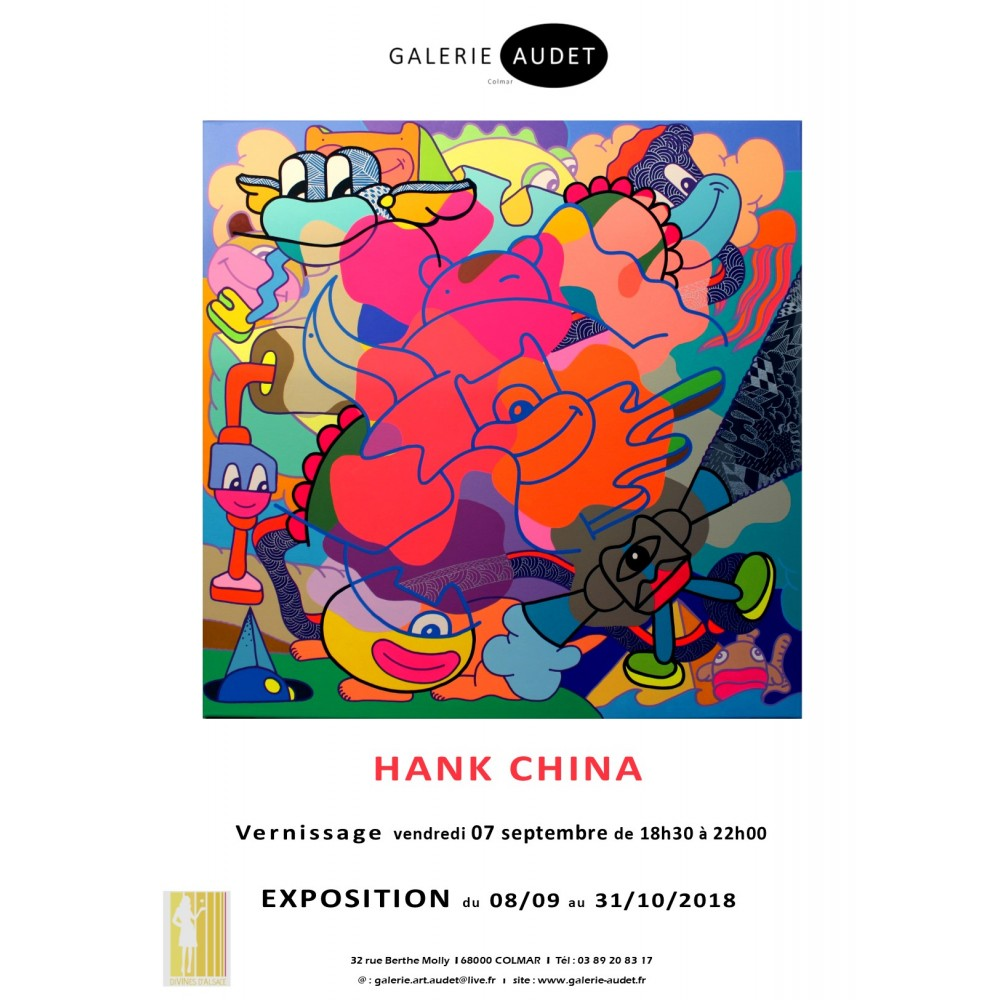 Le retour de HANK CHINA - 09 2018