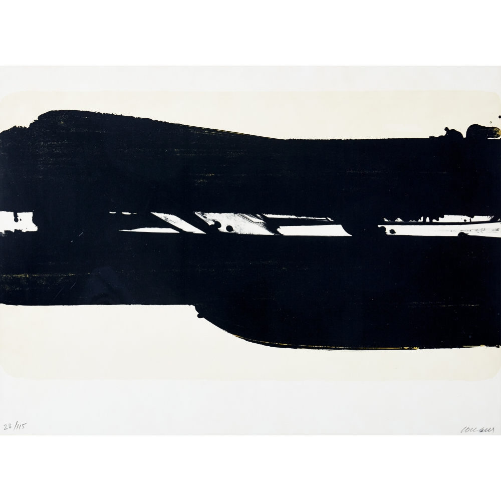 Lithographie N° 39 - SOULAGES Pierre